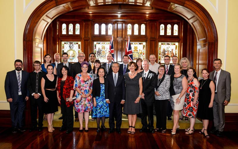 Tourism Businesses Honoured by Governor